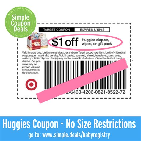 printable huggies coupons february 2015 expired 1 off any huggies diapers wipes or gift pack