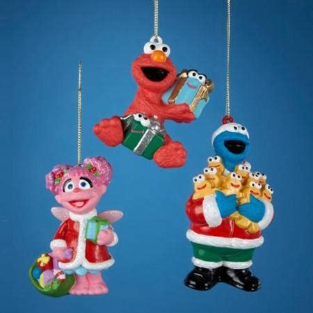 sesame street christmas ornaments doliquid