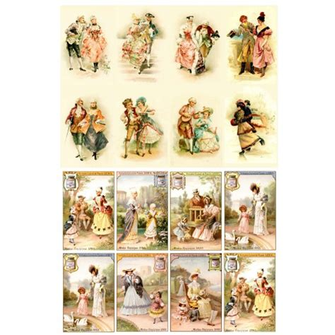 Decoupage For Children - gentleman and decoupage paper pack