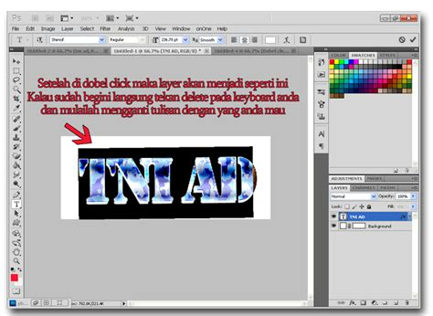 membuat text html membuat text effect keren menggunakan photoshop