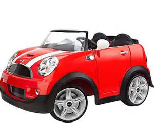 Mini Cooper Power Wheels Avigo Mini Cooper 12 Volt Ride On Toys Quot R Quot Us