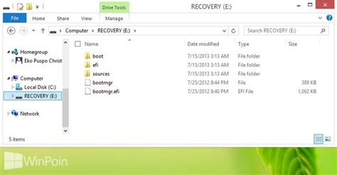 cara membuat file zip di windows 8 cara membuat usb recovery drive di windows 8 winpoin