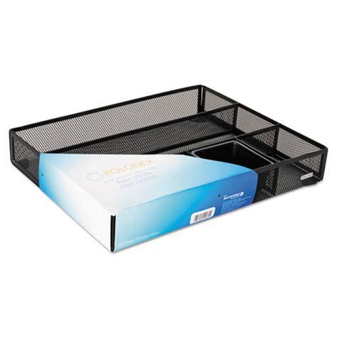 white metal desk organizer rol22131 rolodex deep desk drawer organizer zuma