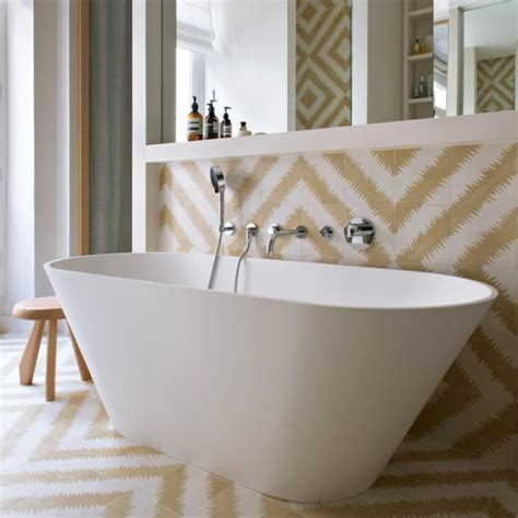 baignoire scandinave salle de bains scandinave nos plus belles