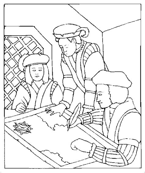 columbus day coloring pages coloringpagesabc com