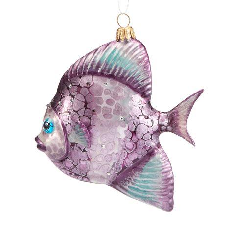 swarovski fish christmas ornament gump s