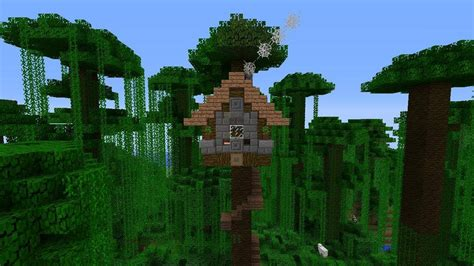 minecraft tree houses how to build a small tree house in minecraft youtube