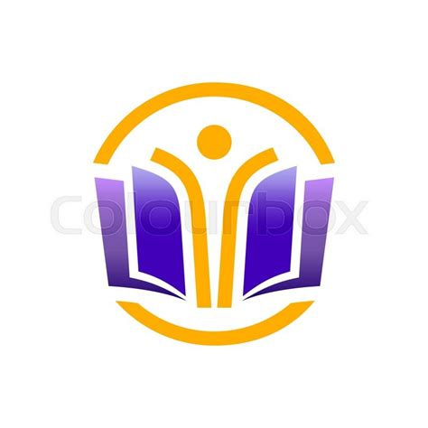 school logo design template education logo concept open education for everyone logo
