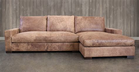 leather chaise sofa american made leather furniture leather sofas leather