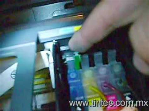 resetar cartuchos t50 tinta continua epson cx3900 doovi