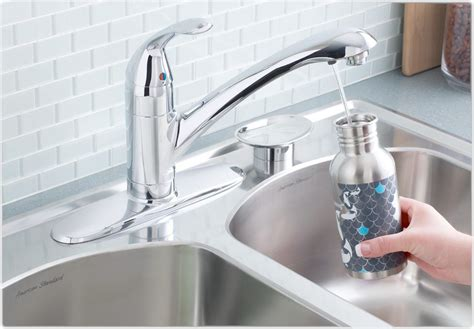 kitchen water faucet moen kitchen faucet with water filter