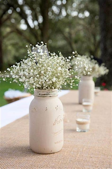 how to make a centerpiece country wedding centerpieces mason jars www imgkid com