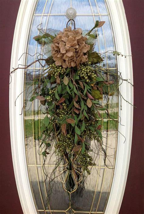 door swags wreath summer wreath s day teardrop door