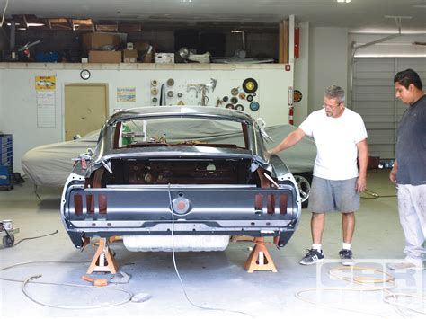 68 Mustang Auto To Manual Conversion by 1967 Mustang Coupe To Fastback Conversion Kit Autos Post