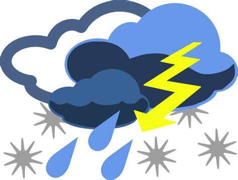 Inclement Weather Clip Art at Clker.com - vector clip art ... Free Clip Art Weather Pictures