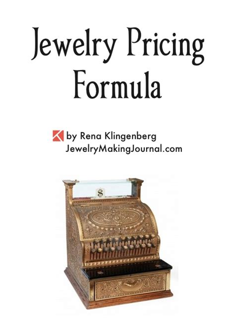 Handmade Jewelry Pricing Formula - jewelry designer hourly rate style guru fashion glitz