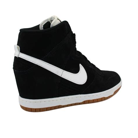 all black nike wedges for international college of