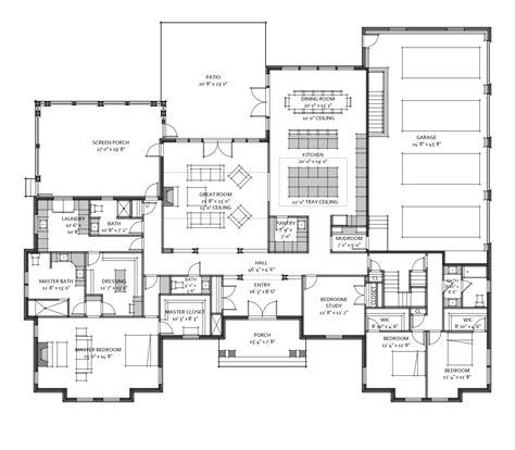 custom floor plans custom house plan for a recent client 3 600 square master wing with dressing