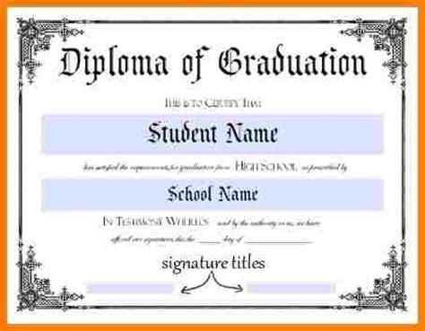 high school diploma certificate template 10 high school diploma template word sle of invoice