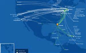 Jet Blue Route Map by Jetblue To Launch Salt Lake City Orlando Flights On