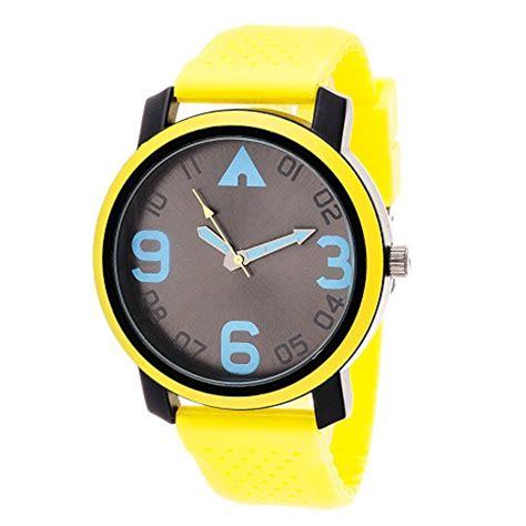 Airwalk Ean Black airwalk analog yelllow with yellow silicone