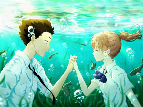 koe  katachi wallpapers pictures images