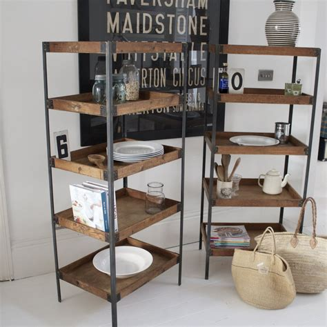 Vintage Industrial Shelving Mad About The House