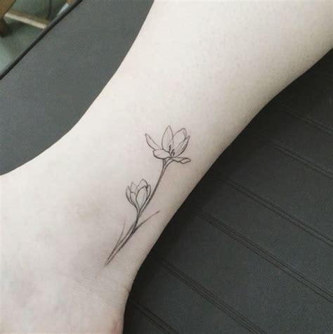 Tattoo Ideas Elegant | 40 adorable itty bitty ankle tattoos elegant flowers