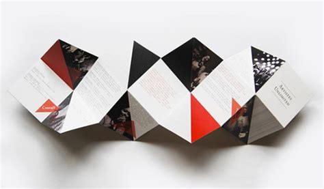 creative brochure folds cyberuse