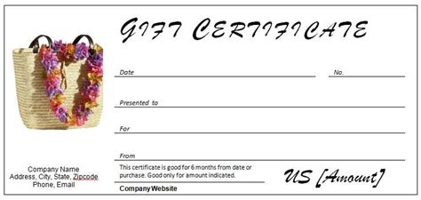 travel certificate template 40 gift certificates templates for any occasion