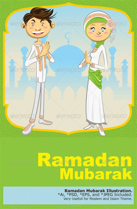template lop lebaran psd background green idul fitri 187 dolunai com