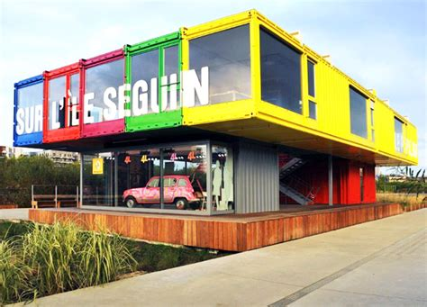 Best Home Interior Designer In Mumbai Renault Unveils Colorful Pavilion Made From 15 Shipping