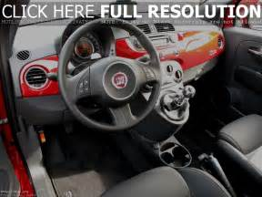 Fiat 500s Interior Fiat 500 Interior Free Car Wallpapers Hd