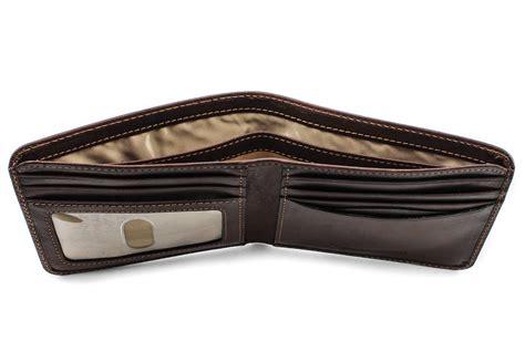 tony perotti prima bi fold wallet w id window handmade