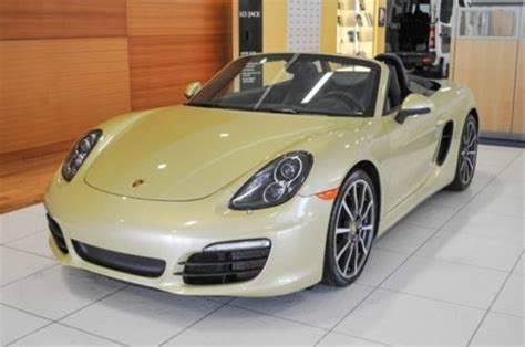 gold porsche convertible find used porsche certified used convertible pdk lime
