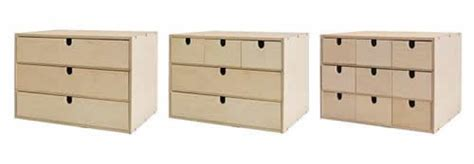 Our own home ikea wooden drawers hacked