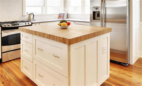 white kitchen island with butcher block top white kitchen island with butcher block top photo 3