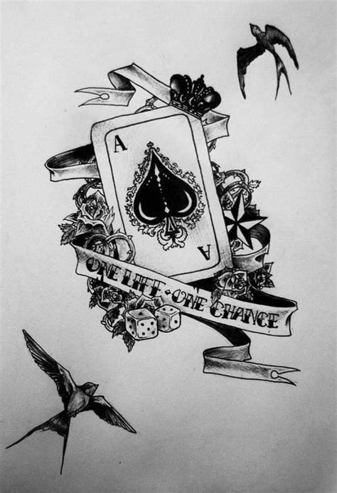 Pin de Exequiel Mendoza en Tatuaje As | Tatuaje cartas