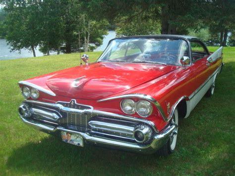 Classic Dodge custom royal 1959 for sale: detailed ... U 2 1959