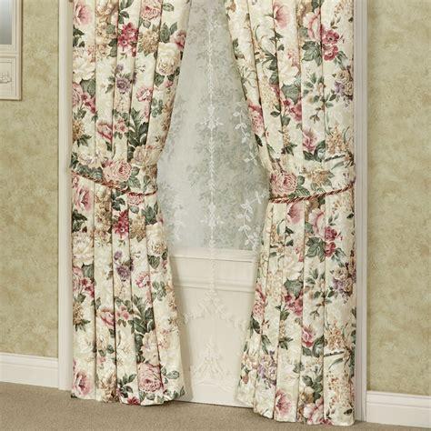 austrian valances curtains floral jubilee austrian valance window treatment