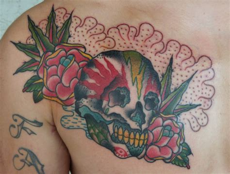 rose tattoos with skulls skull tattoos designs ideas and meaning tattoos for you