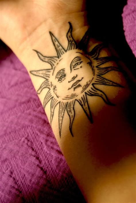 cute sun tattoos 25 beautiful sun designs and images collection