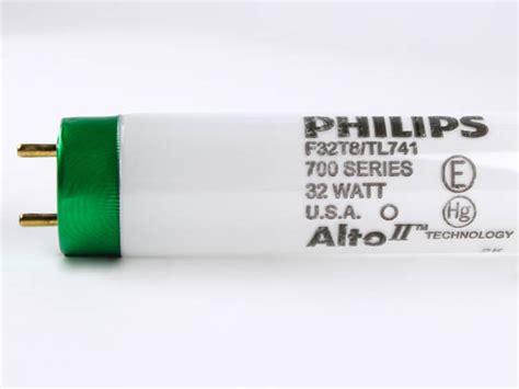 Lu Philips Tl 32 Watt philips 32 watt 48 inch t8 cool white fluorescent bulb f32t8 tl741 10pk bulbs