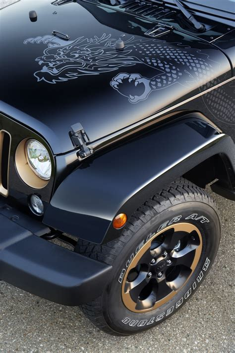 jeep wrangler dragon edition coming  north america