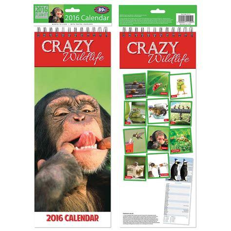 Calendar Craze B M Slim 2016 Calendar Wildlife Calendar