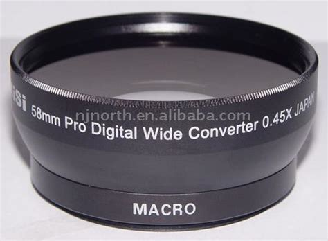 Nisi Wide Converter 0 45 X 58mm 58mm 0 45x wide angle lens