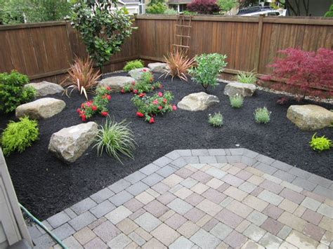 Paver Planters by Pavers For Landscaping Large Planter Bed Around A Sand