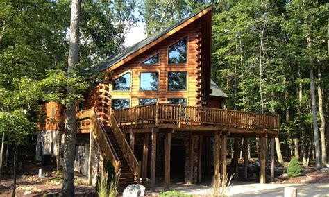 poconos house rentals mountain view chalet our log cabin rental homeaway hazleton
