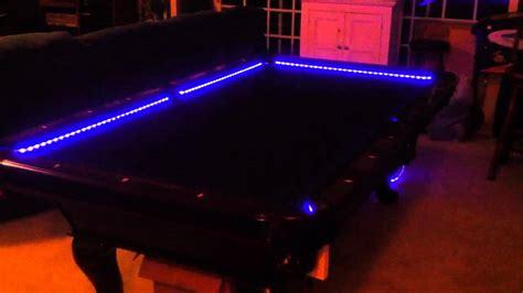 pool table bar lights rgb led bar pool table lights color changing and beats
