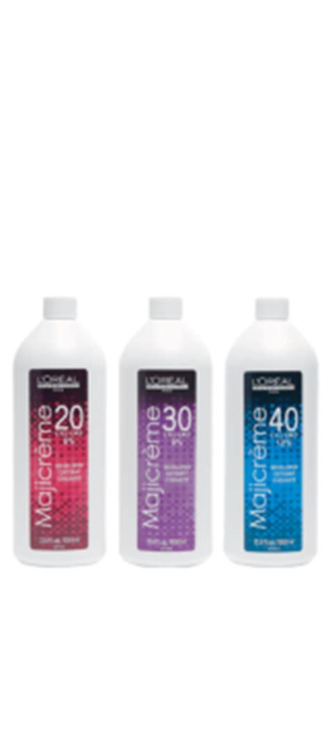 new loreal majicreme hair color developer oxydant your choice 33 8 oz 1000ml ebay majicreme 20 30 40 volume developer haircolor l or 233 al professionnel usa
